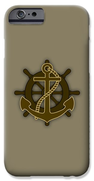Boat iPhone Cases - Nautical Collection iPhone Case by Marvin Blaine
