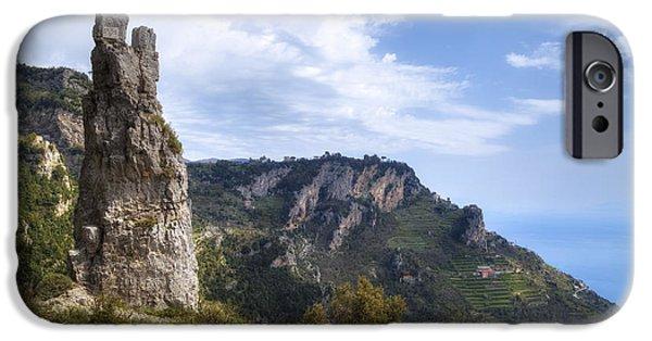 Pathway iPhone Cases - Sentiero degli Dei - Amalfi Coast iPhone Case by Joana Kruse