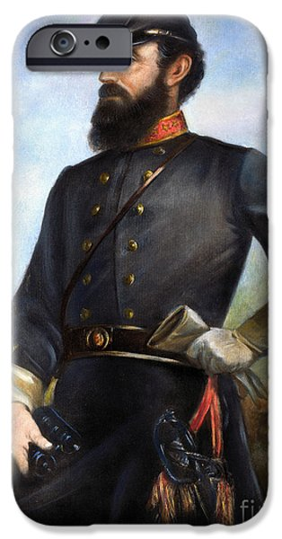STONEWALL JACKSON iPhone Case by Granger