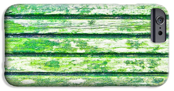 Board iPhone Cases - Weathered wood iPhone Case by Tom Gowanlock