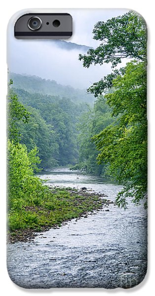 Buy iPhone Cases - Williams River Summer Mist iPhone Case by Thomas R Fletcher