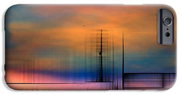 Abstract Digital Drawings iPhone Cases - 8155f2 iPhone Case by Mickey Harris
