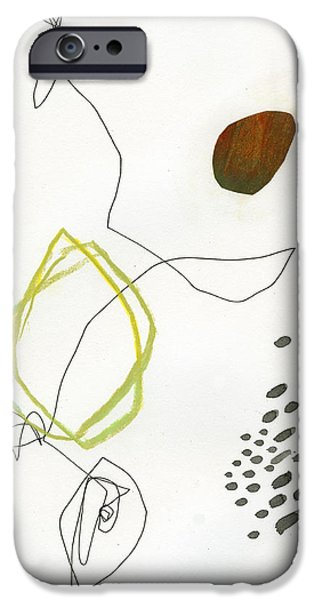 Drawing Paintings iPhone Cases - 82/100 iPhone Case by Jane Davies