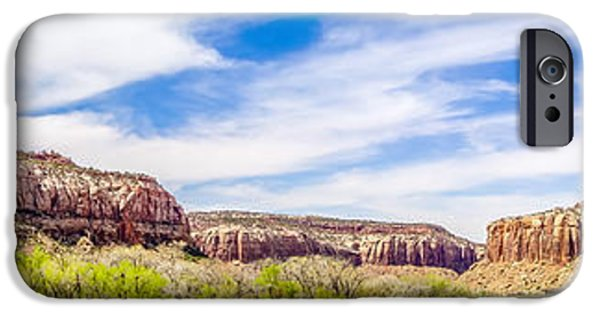River View iPhone Cases -  views of Canyonlands National Park iPhone Case by Alexandr Grichenko