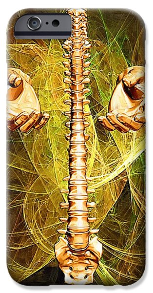 Healing Hands iPhone Case by Joseph Ventura
