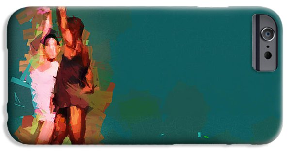 Ballet Dancers iPhone Cases - Lost in motion............. iPhone Case by Sir Josef  Putsche