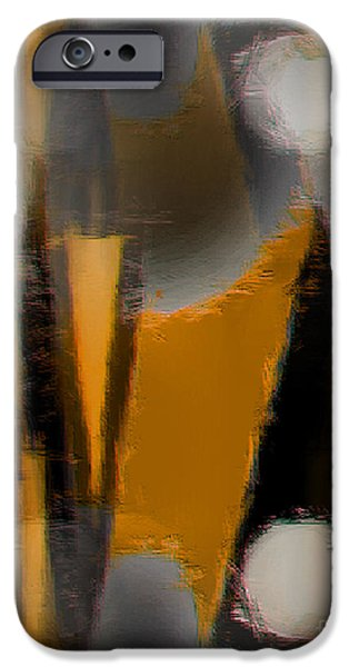 Abstract Expressionist iPhone Cases - 94 iPhone Case by John Krakora
