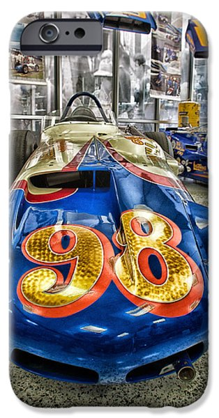 Indy Car iPhone Cases - 98 iPhone Case by Lauri Novak