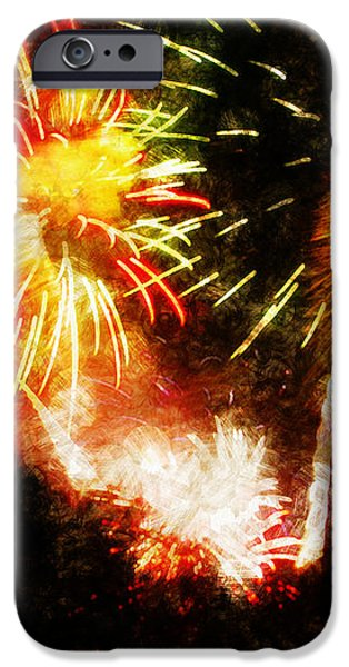 A 4TH Celebration  iPhone Case by ADAM VANCE