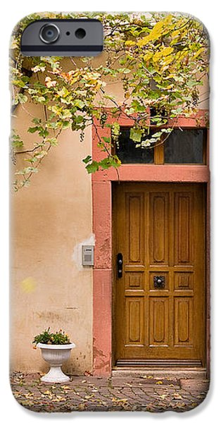 A Back Lane in Speyer iPhone Case by Louise Heusinkveld