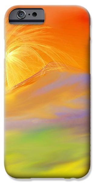 A Band Of Angels Coming After Me iPhone Case by David Lane