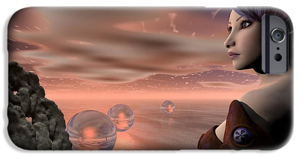 Brave New World iPhone Cases - A Brave New World iPhone Case by Sandra Bauser Digital Art
