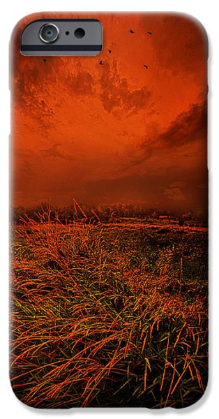 Storm iPhone Cases - A Broken Promise iPhone Case by Phil Koch