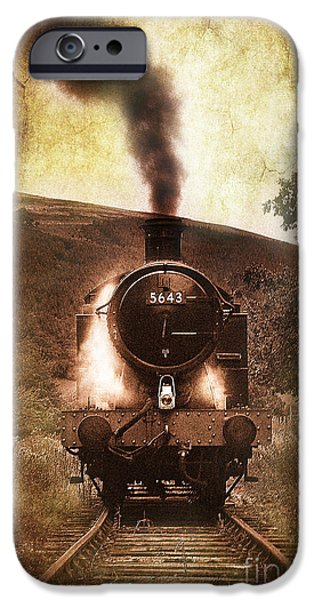 Coal iPhone Cases - A Bygone Era iPhone Case by Meirion Matthias