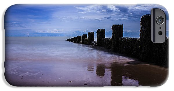 North Sea Photographs iPhone Cases - A Calming Seascape iPhone Case by Martin Newman