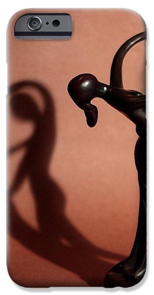 A couples Dance iPhone Case by Cherie Duran