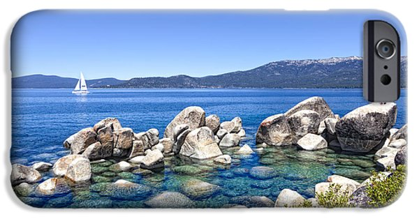 Recently Sold -  - Village iPhone Cases - A Day at the Lake iPhone Case by Janet Fikar
