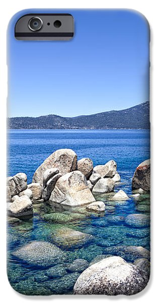 A Day at the Lake iPhone Case by Janet Fikar