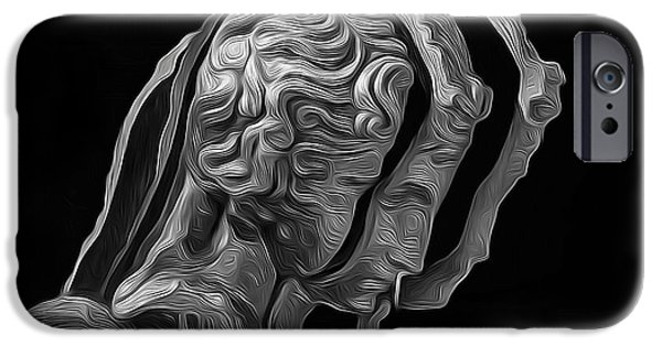 Smithsonian iPhone Cases - A Divided Mind iPhone Case by Joe Paradis