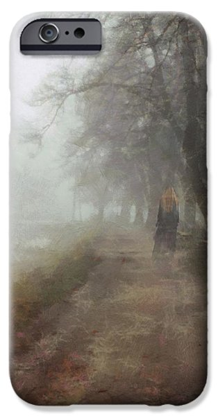 Mist iPhone Cases - A foggy day iPhone Case by Gun Legler