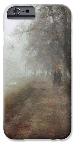 Fog Mist iPhone Cases - A foggy day iPhone Case by Gun Legler
