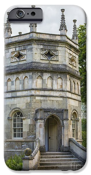 Historic Site iPhone Cases - A folly near Studley Royal in Yorkshire iPhone Case by Patricia Hofmeester