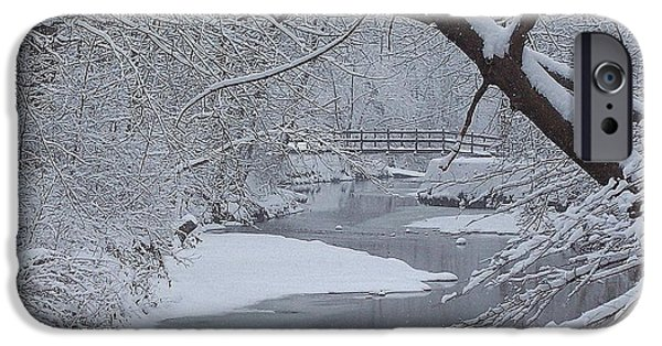 Oak Creek iPhone Cases - A Forgotten Place iPhone Case by Frozen in Time Fine Art Photography