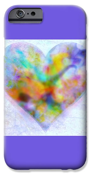 A Gentle Heart iPhone Case by WBK