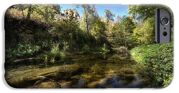 West Fork iPhone Cases - A gentle touch of Nature iPhone Case by Thomas Todd