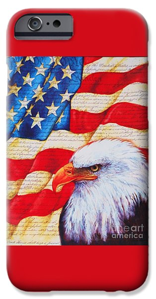 July 4th iPhone Cases - A Gift For The 4th iPhone Case by Marcus Dagan