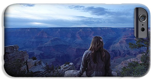 Grand Canyon iPhone Cases - A Grand View iPhone Case by Rachel Cash