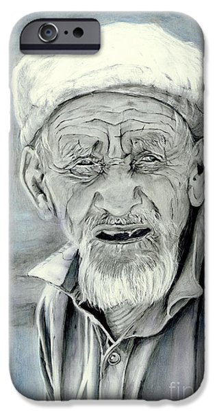 Character Study iPhone Cases - A Life Time iPhone Case by Enzie Shahmiri