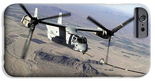 Bombing iPhone Cases - A Marine Corps Mv-22 Osprey Prepares iPhone Case by Stocktrek Images