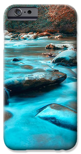 A Moment in the Great Smoky Mountains iPhone Case by Rich Leighton