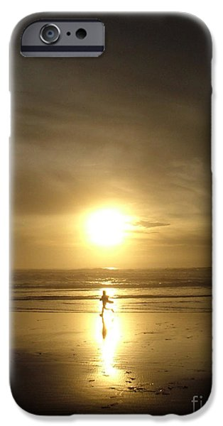 A moment in the sun iPhone Case by Nick Gustafson