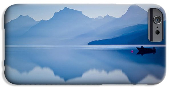 Fog Mist iPhone Cases - Blue Heaven iPhone Case by Renee Sullivan