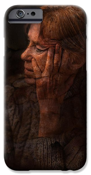 Thinking iPhone Cases - A moment to think iPhone Case by Sonia Conforti