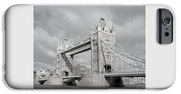 Monotone iPhone Cases - A Monotone Sort of Day iPhone Case by Ann Horn