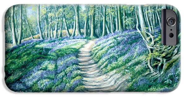 Pathway Pastels iPhone Cases - A New Awakening iPhone Case by Rosemary Colyer
