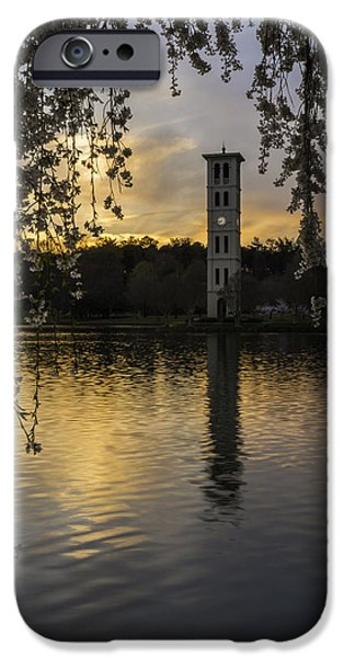 Willow Lake iPhone Cases - A Perfect Evening iPhone Case by Johan Hakansson