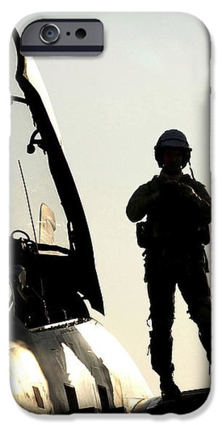 A Pilot Prepares To Enter His F-14b iPhone Case by Stocktrek Images