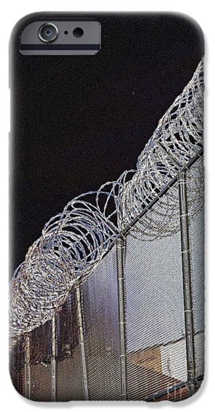 Public Jail iPhone Cases - A Place Of Desolation iPhone Case by Marcia Lee Jones