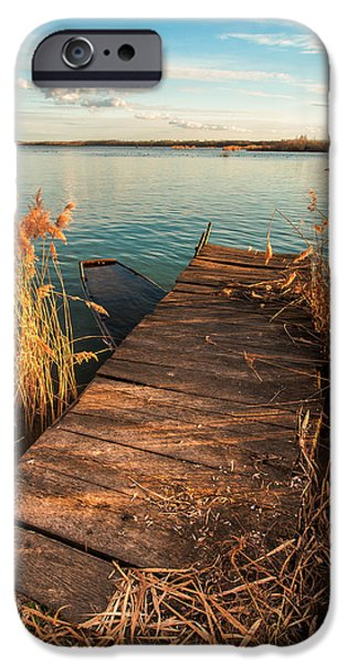 A place where lovers meet iPhone Case by Davorin Mance