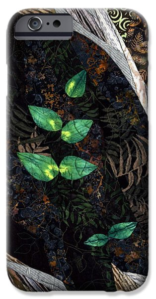 Plant Tapestries - Textiles iPhone Cases - A Safe Haven iPhone Case by Linda Beach