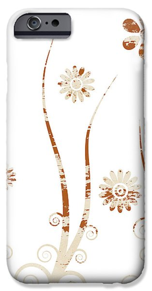A shabby meadow iPhone Case by Frank Tschakert
