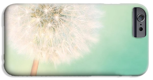 Cushions iPhone Cases - A Single Wish II iPhone Case by Amy Tyler