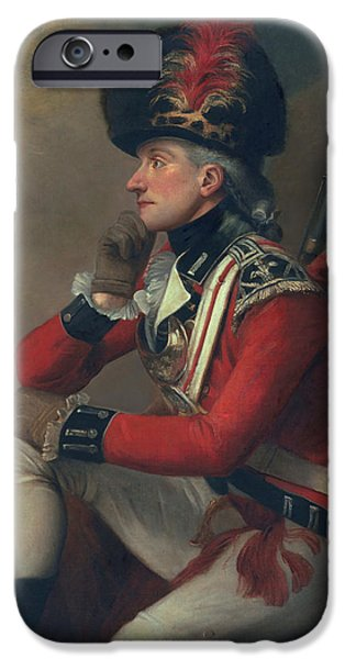 Thinking iPhone Cases - A soldier called Major John Andre iPhone Case by English School