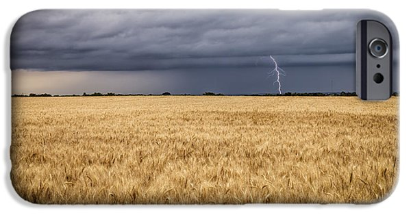 Recently Sold -  - Raining iPhone Cases - A Storm Passing By iPhone Case by Scott Bean