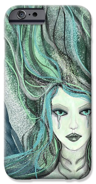 Torn iPhone Cases - A Stranger Mermaid iPhone Case by Forever Art And  Fashion by Leslie