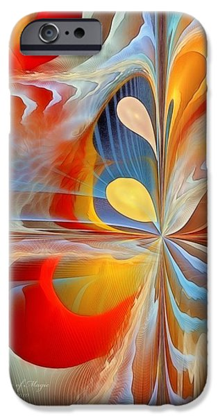 A Time of Magic iPhone Case by Gayle Odsather